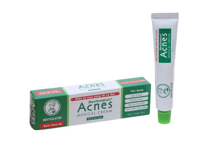 kem trị mụn acnes giá học sinh