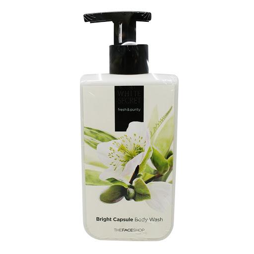 White Secret Bright Capsule Body Wash TheFaceShop