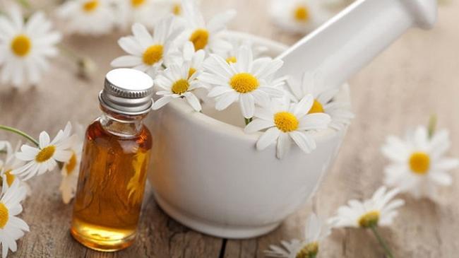 Tinh chất hoa cam cúc dưỡng ẩm, giúp tóc mọc dày, bóng mượt (Nguồn: Internet)