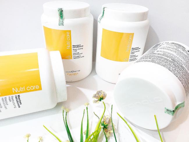 kem ủ tóc phục hồi hư tổn tốt Nutri Care Fanola