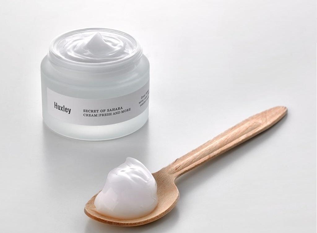 Kem dưỡng ẩm cho da mụn Huxley Cream Fresh