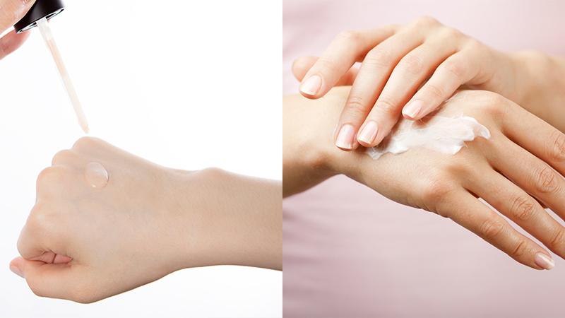 sự khác nhau của kem trị mụn và serum trị