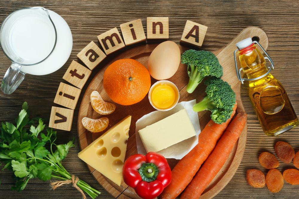 cách trị mụn dậy thì - Vitamin