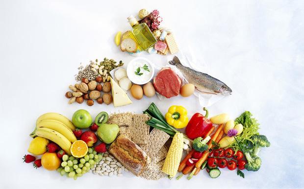 Cách trị nóng gan nổi mụn - ăn uống lành mạnh