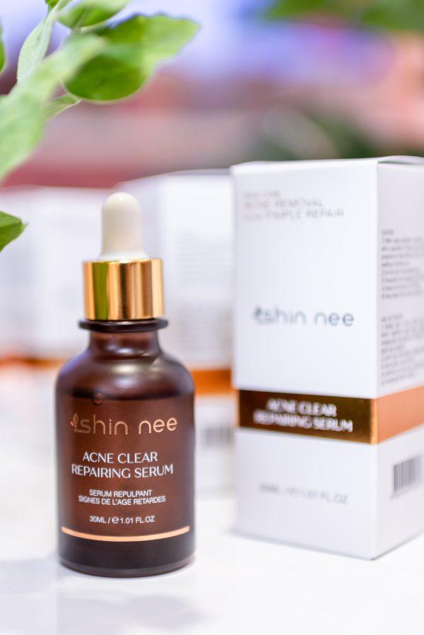 Serum trị mụn trắng da Acne Repairing Shin-nee