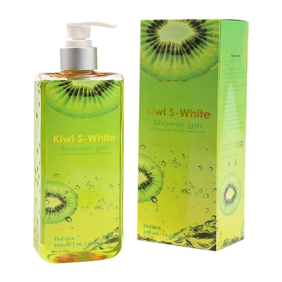 sữa tắm s-white kiwi